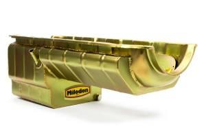 MILODON #31188 BBC Pro Comp Oil Pan w/Full Kick-Out
