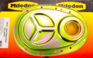 MILODON #65615 Chevy 409 Timing Cover Gold Finish