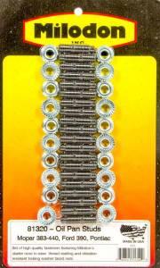 MILODON #81320 Oil Pan Stud Kit