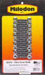 MILODON #85379 Valve Cover Stud Kit - Olds V8 & Ford 351C