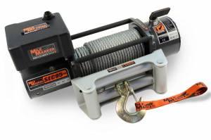 MILODON #76-50246BW 9500lb Winch w/Roller Fairlead 12' Remote