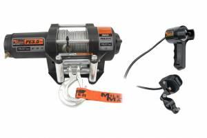 MILODON #77-50112BW 3500 lb ATV Winch w/ Roller Fairlead & Remote