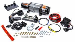 MILODON #77-50120W 5000lb Winch w/Roller Fairlead & 12ft Remote