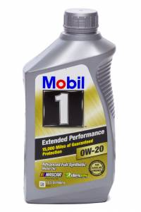 MOBIL 1 #MOB120926-1 0w20 EP Oil 1 Qt Bottle