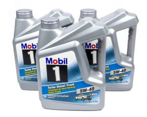 MOBIL 1 #122260 5w40 Turbo Diesel Oil Case 3x1 Gallon
