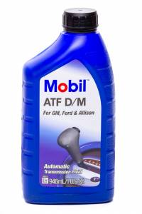 MOBIL 1 #MOB123130-1 Automatic Transmission Fluid D/M Case 1 Qt.
