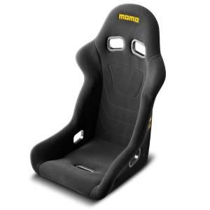 MOMO AUTOMOTIVE ACCESSORIES #1070BLK Start Racing Seat Regular Size Black