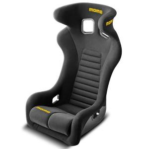 MOMO AUTOMOTIVE ACCESSORIES #1073BLK Daytona Racing Seat Regular Size Black