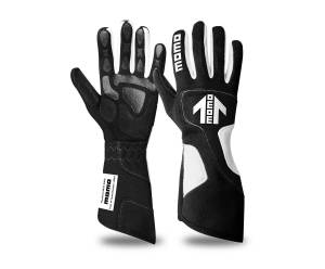 MOMO AUTOMOTIVE ACCESSORIES #R530 NN11 Xtreme Pro Gloves Large Black