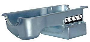 MOROSO #20506 SBF 5.0L Oil Pan w/Kick- Out Sump- 7qt.