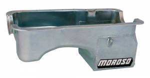 MOROSO #20521 SBF 5.0L Oil Pan w/Deep Rear Sump- 7qt.