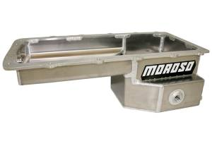 MOROSO #20574 Oil Pan Ford 5.0L Coyote Drag Race Fabricated Alm