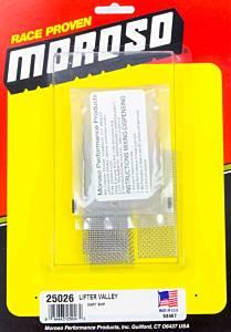 MOROSO #25026 Oil Return Screen Kit - Dart SBC SHP Blocks