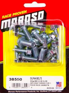MOROSO #38550 Sb Chevy Oil Pan Bolts