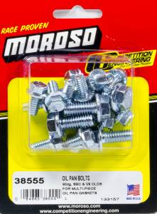 MOROSO #38555 SBC Oil Pan Bolt Kit