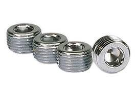 MOROSO #39152 3/8in. NPT Chrome Pipe Plug 4 Per Package