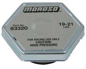 MOROSO #63320 Racing Radiator Cap 19-21LBS.