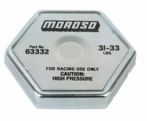Radiator Cap 31-33 psi Hexagon