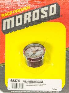 MOROSO #65374 Fuel Pressure Gauge - 0-100psi