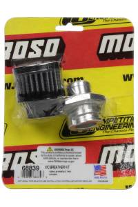 MOROSO #68839 Breather Kit - GM LS Valve Cover