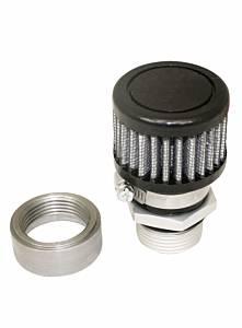 MOROSO #68851 Valve Cover Breather Kit U-Weld - Steel
