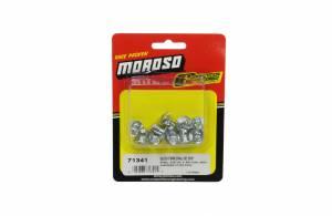 MOROSO #71341 Oval Head Quick Fastener - Steel 5/16 x 3.00 10pk