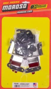 MOROSO #72143 Black Wire Loom Kit For SBC Center Bolt V/C