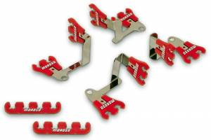 MOROSO #72168 Show Car Wire Loom Kit Red