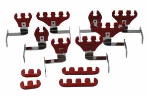 MOROSO #72176 BBC Wire Loom Kit - Red