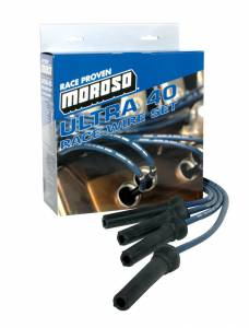MOROSO #73813 Ultra 40 Plug Wire Set - Blue