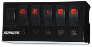 MOROSO #74190 Rocker Switch Panel - Cage Mount