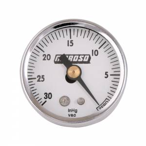 MOROSO #89610 1-1/2 Vacuum Gauge - 0-30HG
