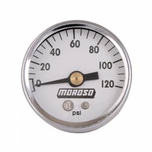 MOROSO #89611 1-1/2 Oil Pressure Gauge - 0-120PSI