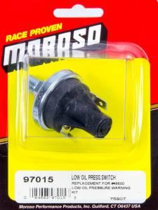 MOROSO #97015 Low Oil Pressure Switch
