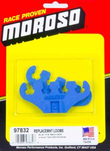 MOROSO #97832 Blue 4-Hole Wire Loom