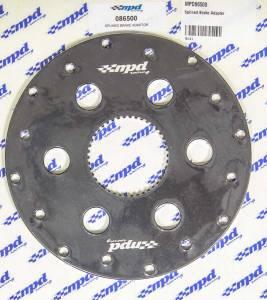 MPD RACING #MPD86500 Splined Brake Adapter 42 Spline Aluminum Black