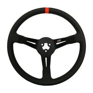MPI USA #MPI-BL-14-PA 14in 3-Bolt LW Aluminum Wheel Polyurethane Grip