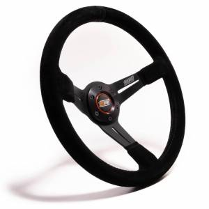 MPI USA #MPI-DO-14-C-B 14in Wheel Black Suede 6-Bolt 3in Dished