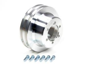 MARCH PERFORMANCE #10049 2 Groove Crank Pulley 6-1/2in