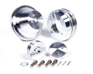 MARCH PERFORMANCE #1625 SB Ford 3 Pc Pulley Set