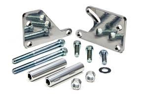 MARCH PERFORMANCE #20111-09 Adjustable SBC Power Steering Bracket