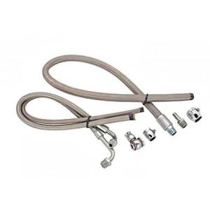 MARCH PERFORMANCE #P3222 S/S Braided Power Steering Hose Kit