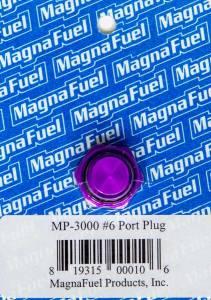 MAGNAFUEL/MAGNAFLOW FUEL SYSTEMS #MP-3000 #6 O-Ring Port Plug