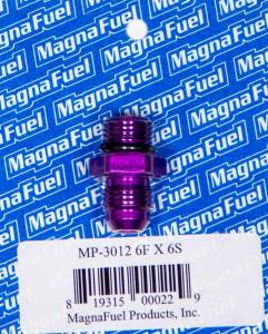 MAGNAFUEL/MAGNAFLOW FUEL SYSTEMS #MP-3012 #6an to #6an Male Port Fitting