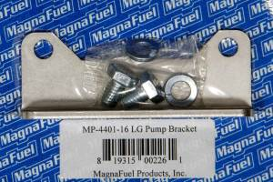 MAGNAFUEL/MAGNAFLOW FUEL SYSTEMS #MP-4401-16 Std. Mounting Bracket  - Fuel Pump Clear Zinc