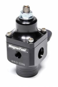 MAGNAFUEL/MAGNAFLOW FUEL SYSTEMS #MP-9633-BLK 2-Port Fuel Regulator w/ #10an Inlet/#6an Outlets