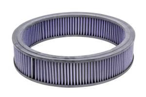 MR. GASKET #1422G Air Filter Element 14x3 Blue Washable