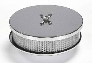 MR. GASKET #1491 2bbl Chrome Air Cleaner