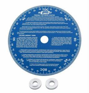 MR. GASKET #1570 Universal Degree Wheel 7 inch