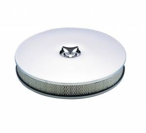 MR. GASKET #4338 14in Chrome Air Cleaner